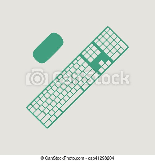 キーボード, アイコン - csp41298204
