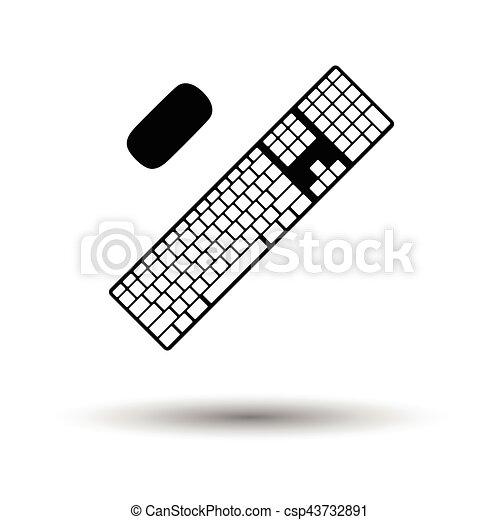 キーボード, アイコン - csp43732891