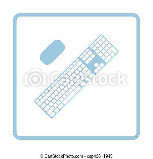 キーボード, アイコン - csp43811943