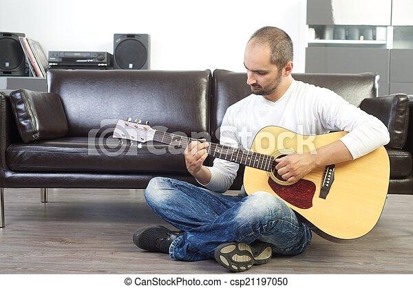 ギター プレーヤー - csp21197050