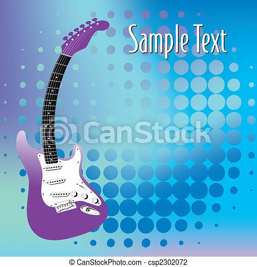 ギター, 音楽, 背景 - csp2302072