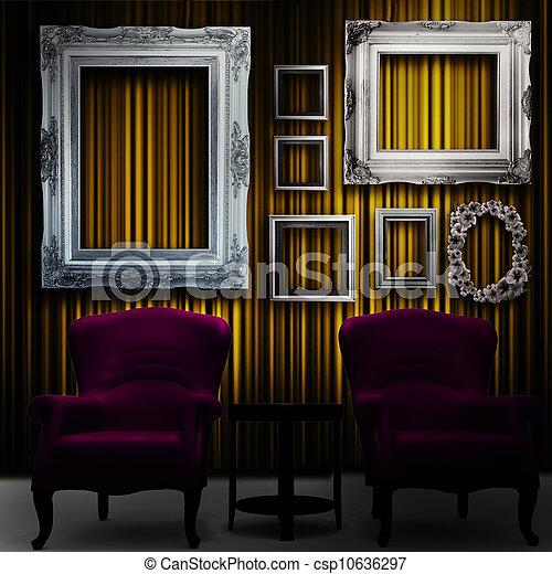 ギャラリー, ディスプレイ - csp10636297