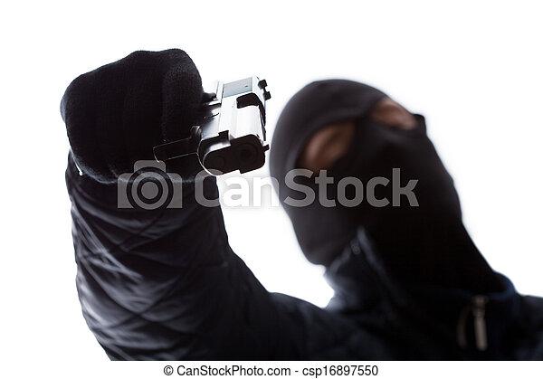 ギャング, 銃, 保有物 - csp16897550
