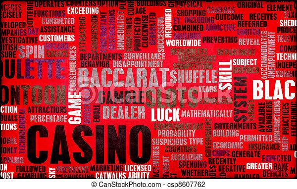 ギャンブル, カジノ - csp8607762