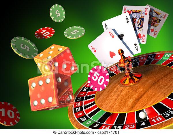 ギャンブル, ゲーム - csp2174701