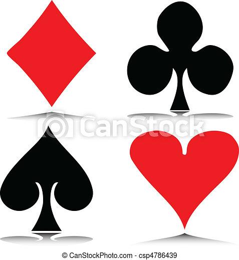 ギャンブル, ベクトル, イラスト - csp4786439