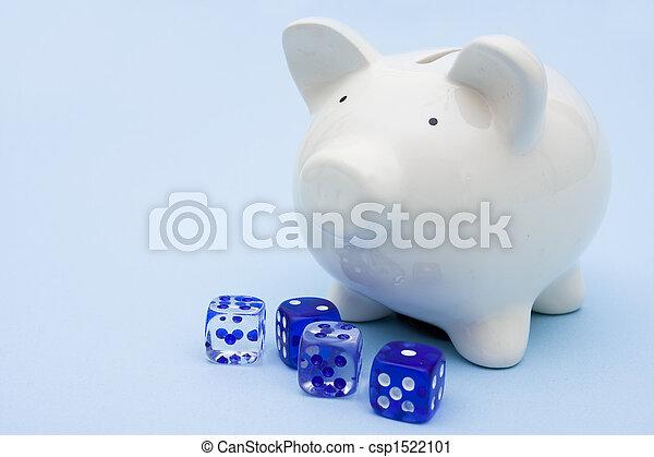 ギャンブル, 投資 - csp1522101
