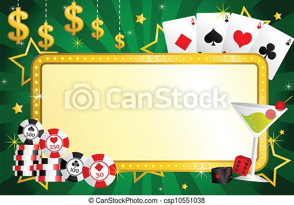 ギャンブル, 背景 - csp10551038