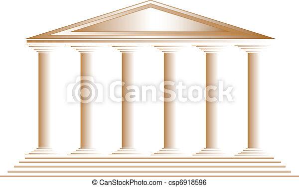 ギリシャ語, 寺院 - csp6918596