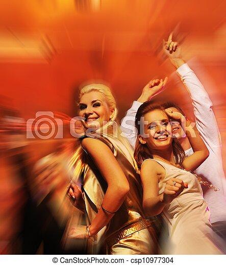 クラブ, 夜, 人々, ダンス - csp10977304