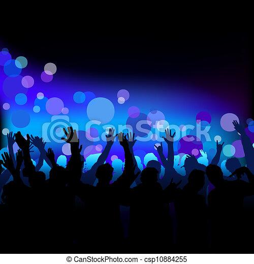 クラブ 生活 夜 生活 ダンス イラスト クラブ ベクトル 背景