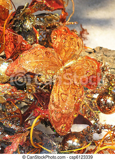 クリスマスの 装飾 - csp6123339