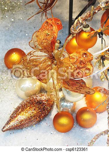 クリスマスの 装飾 - csp6123361