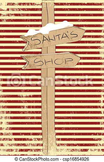 クリスマスカード - csp16854926