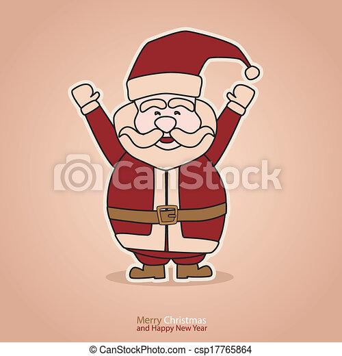 クリスマスカード - csp17765864