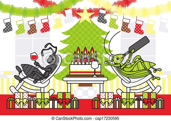 クリスマスカード - csp17230595