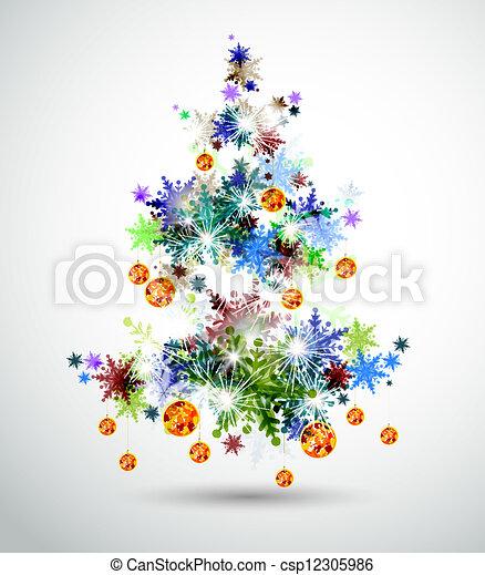 クリスマスツリー - csp12305986