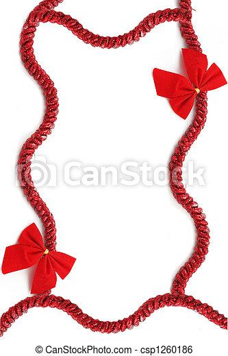 クリスマス, リボン - csp1260186