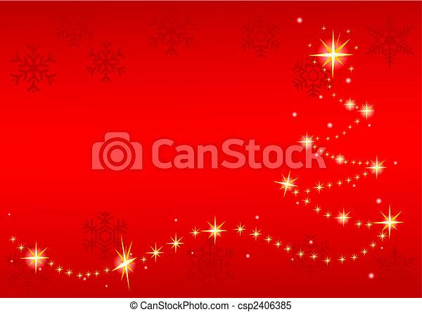 クリスマス, 背景 - csp2406385