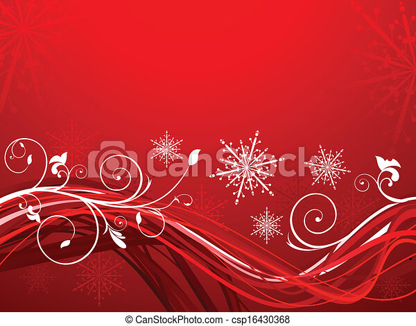 クリスマス, 芸術的, 抽象的 - csp16430368