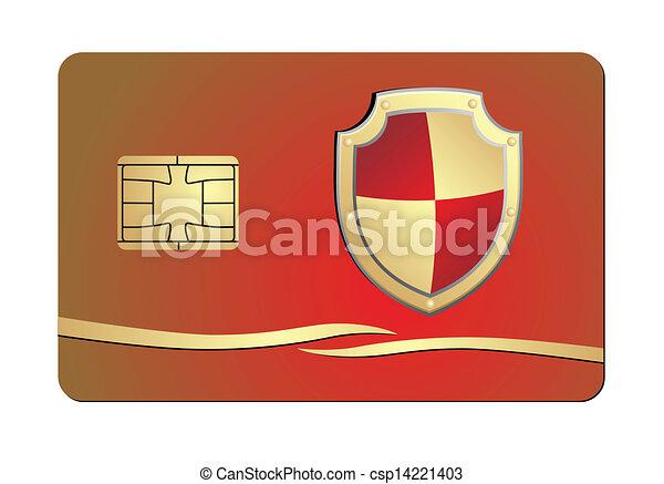 クレジットカード, セキュリティー - csp14221403