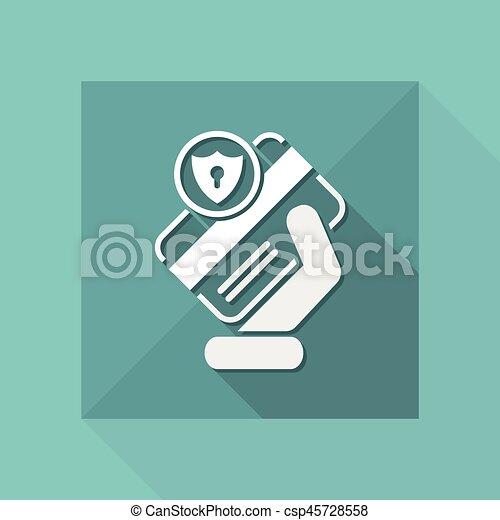 クレジット, セキュリティー, カード - csp45728558