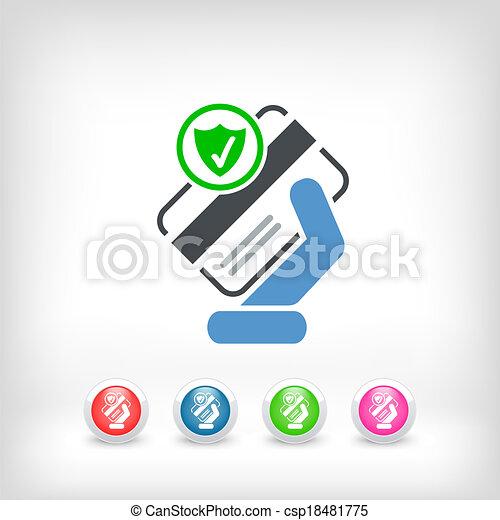 クレジット, セキュリティー, カード - csp18481775