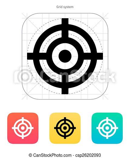 クロスヘア, icon. - csp26202093