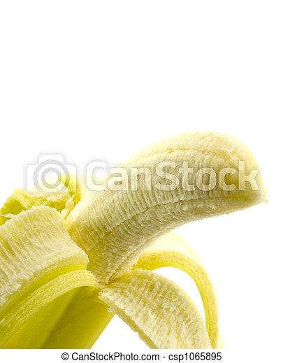クローズアップ, バナナ - csp1065895