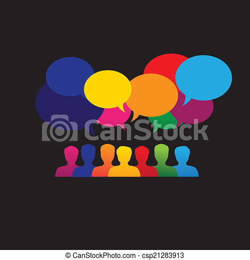 &, グラフィック, ネットワーク, アイコン, 媒体, 人々, -, ベクトル, オンラインで, 社会 - csp21283913