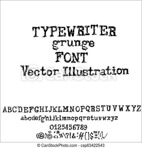 タイプ ライター フォント