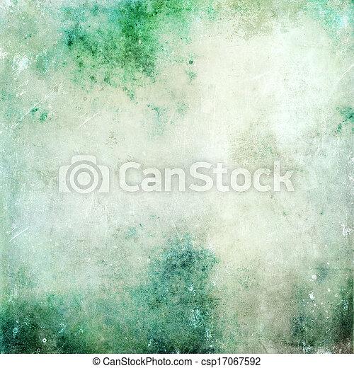 グランジ, 手ざわり, 抽象的, 古い, 背景, デリケートである, キャンバス - csp17067592
