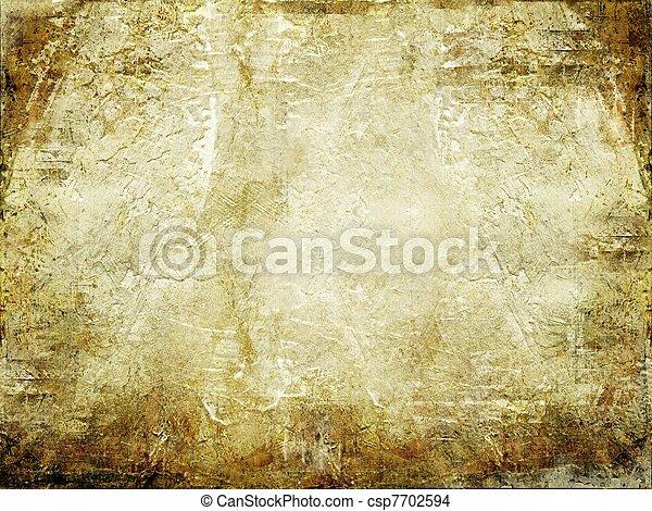 グランジ, 背景, textured - csp7702594