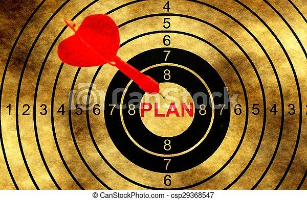 グランジ, 計画, 背景, ターゲット - csp29368547