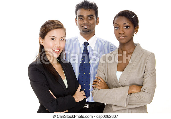 グループ, ビジネス チーム - csp0262807