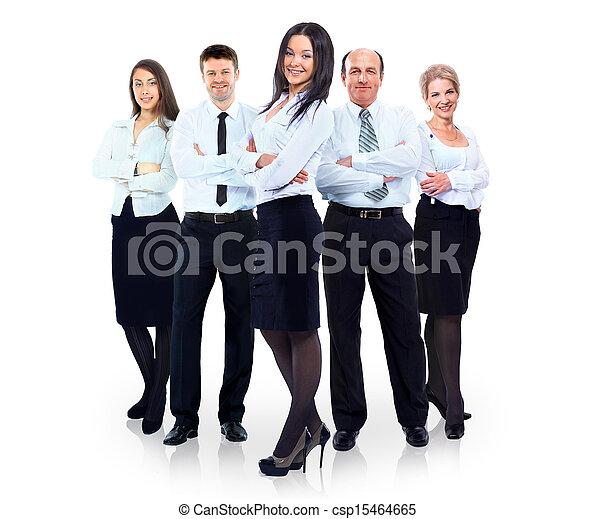 グループ, ビジネス 人々 - csp15464665