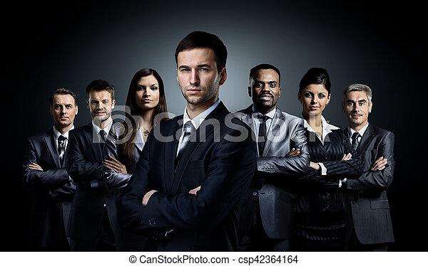 グループ, ビジネス 人々 - csp42364164