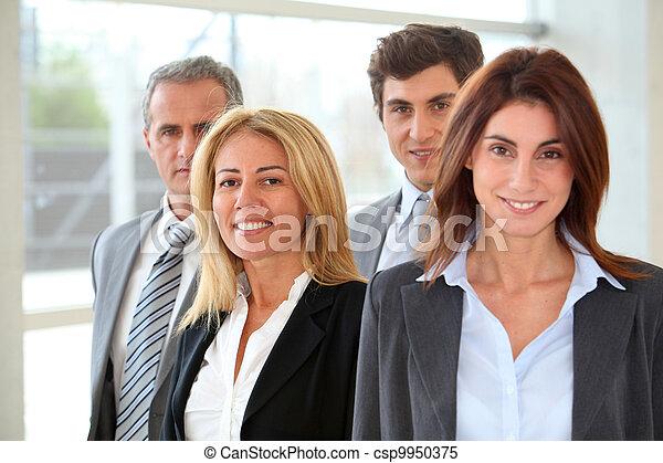 グループ, ビジネス 人々 - csp9950375
