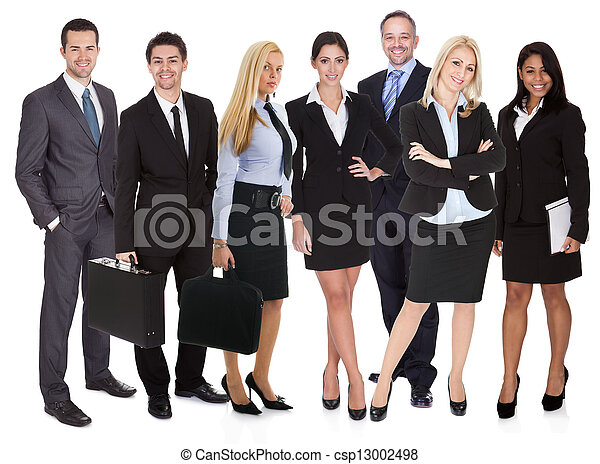 グループ, ビジネス 人々 - csp13002498