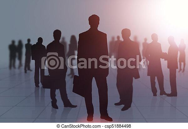 グループ, ビジネス 人々 - csp51884498
