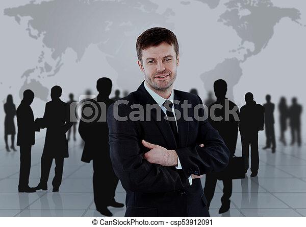 グループ, ビジネス 人々 - csp53912091