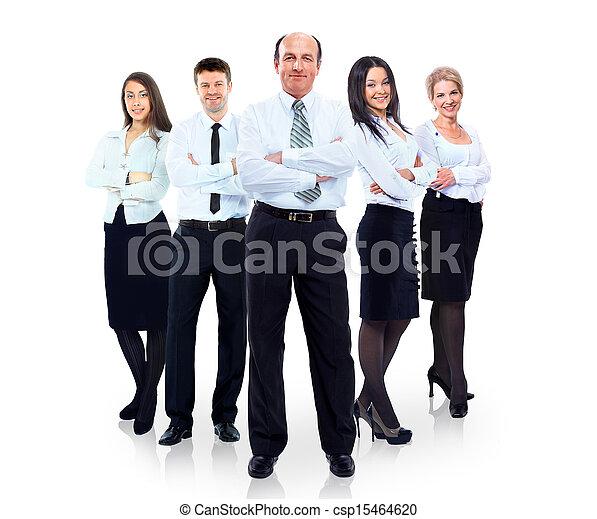 グループ, ビジネス 人々 - csp15464620