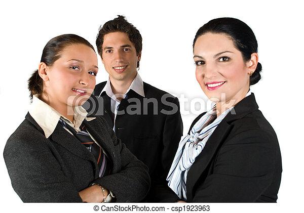 グループ, ビジネス 人々 - csp1923963