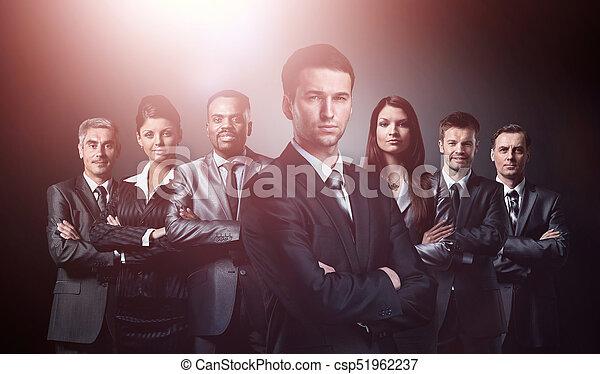 グループ, ビジネス 人々 - csp51962237