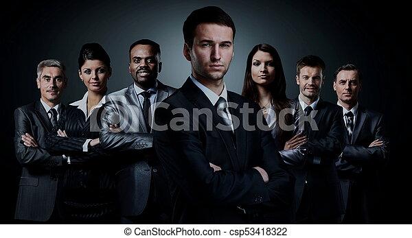 グループ, ビジネス 人々 - csp53418322