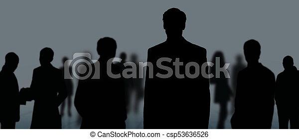 グループ, ビジネス 人々 - csp53636526