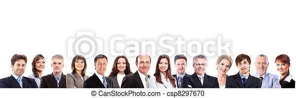 グループ, ビジネス 人々 - csp8297670