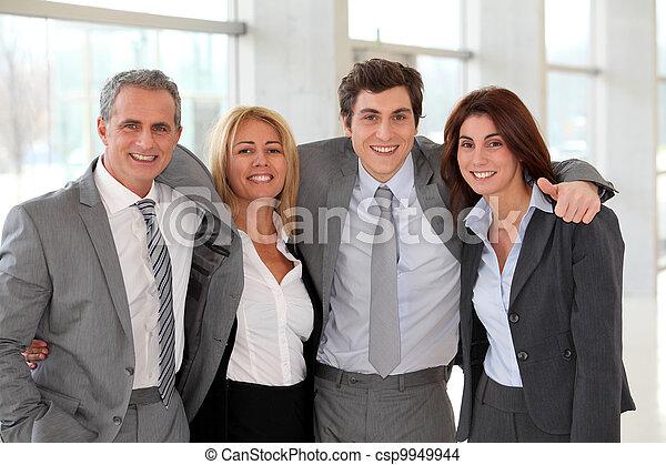グループ, ビジネス 人々 - csp9949944