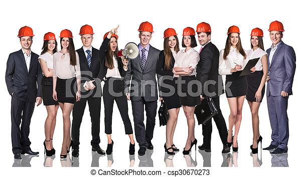 グループ, ビジネス 人々 - csp30670273