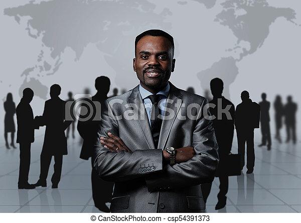 グループ, ビジネス 人々 - csp54391373